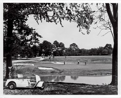 First page of Golden Horseshoe Golf Course photograph