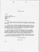 First page of Letter from Arnold Palmer to P. H. M. Wilson