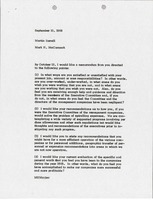 First page of Memorandum from Mark H. McCormack to Martin S. Sorrell