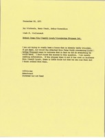 First page of Memorandum from Mark H. McCormack to Jay Michaels, Barry Frank, and Arthur Rosenblum