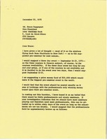 First page of Letter from Mark H. McCormack to Bruce Rappaport