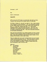 First page of Memorandum from Mark H. McCormack to Japan Nihon Educational Television file