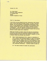 First page of Letter from Mark H. McCormack to Mr. Sung-Chung