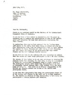 First page of Letter from Mark H. McCormack to Kenji Nakabayashi