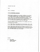 First page of Letter from Mark H. McCormack to file