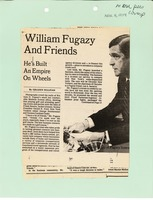 First page of William Fugazy And Friends: He's Built An Empire On Wheels