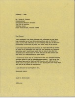 First page of Letter from Mark H. McCormack to Deane R. Beman