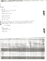 First page of Telex prinotut from Mark H. McCormack to Rick Avory
