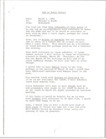 First page of Fax from Mark H. McCormack to Matsuki and Kondo