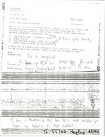 First page of Telex prinotut from Dennis Chiu to Mark H. McCormack