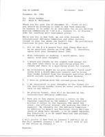First page of Fax from Mark H. McCormack to Peter German
