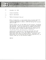 First page of Memorandum from Mark H. McCormack to Arthur Rosenblum