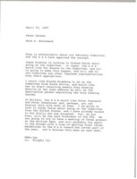First page of Memorandum from Mark H. McCormack to Peter German
