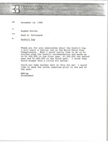 First page of Memorandum from Mark H. McCormack to Hughes Norton