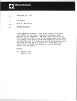 First page of Memorandum from Mark H. McCormack to Jay Ogden