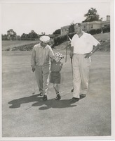 First page of Billy Bruckner with his father and professional golfer Larry Brancato