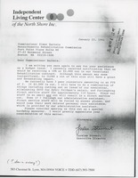 First page of Letter from Lorelee Stewart to Elmer C. Bartels