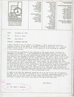 First page of Memorandum from David Barrie to Marcel C. Durot