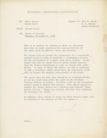 First page of Memorandum from Marcel C. Durot to Elmer C. Bartels and David Barrie