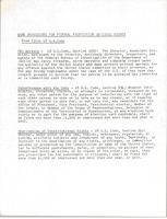 First page of Some provisions for the federal prosecution in civil rights