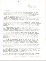 First page of Letter from Sid Walker to Gloria Xifaras Clark