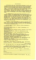 First page of Invitation to the anniversary of the Student Nonviolent Coordinating Committee