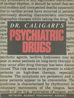 First page of Dr. Caligari's psychiatric drugs