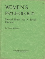 First page of Women's psychology Mental illness as a social disease