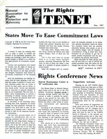 First page of The  Rights Tenet 1987 May