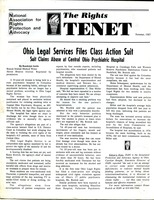 First page of The  Rights Tenet 1987 Summer