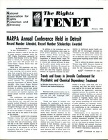 First page of The  Rights Tenet 1988 Jan.