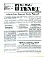 First page of The  Rights Tenet 1989 Dec.