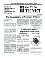 First page of The  Rights Tenet 1990 Mar.