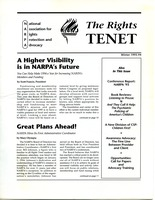 First page of The  Rights Tenet 1993-1994 Winter