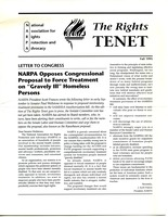 First page of The  Rights Tenet 1995 Fall