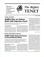 First page of The  Rights Tenet 1996 Winter