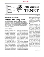 First page of The  Rights Tenet 1997 Spring