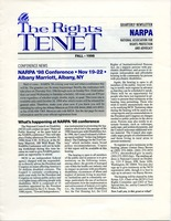 First page of The  Rights Tenet 1998 Fall