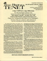 First page of The  Rights Tenet 1999 Fall