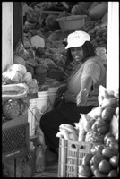 First page of Woman selling produce in the new marketplace, Belize City