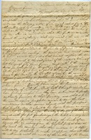 First page of Letter from A. Pierce to Thomas Howland