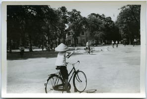 First page of Cyclists near Hoan Kiem Lake