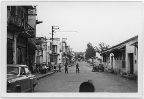 First page of Street scene, Hanoi