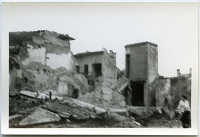 First page of Bombing ruins in Thái Bình City