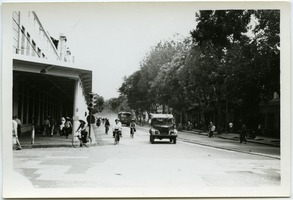 First page of Street scene, French Quarter, Hanoi