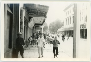 First page of Street scene, French Quarter