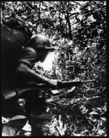 First page of Teenage ARVN trooper running through the jungle