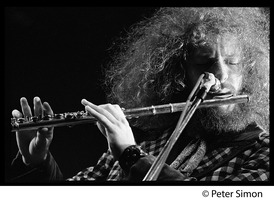 First page of Ian Anderson (Jethro Tull) in performance, Newport Jazz Festival
