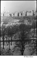 First page of Central Park in winter