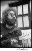 First page of Jerry Garcia playing guitar: Grateful Dead in the studio (Automated Sound)